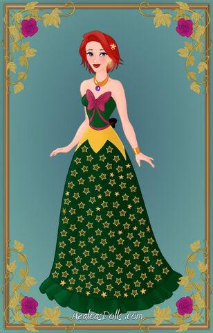 File:Órla Fallon in a green starry gown.jpg