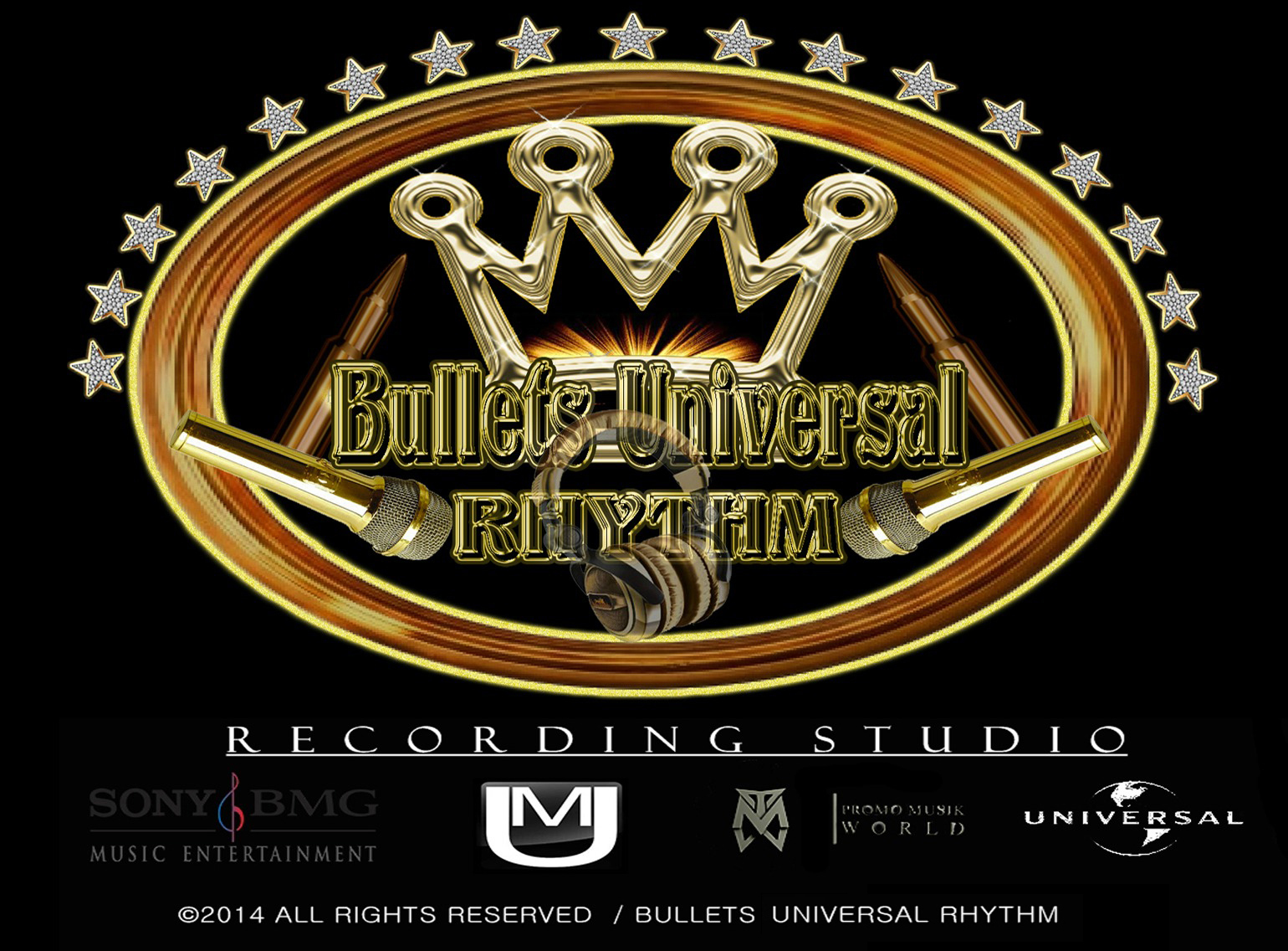 Bullets Universal Rhythm- Recording Studio (All Rights Reserved)