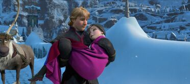 Kristoff Carrying Anna