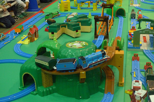 File:Thomas and Friends in Plarail Expo Tokyo 2016.jpg