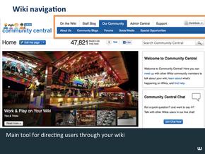 Message Wall & Wiki Nav Slide05