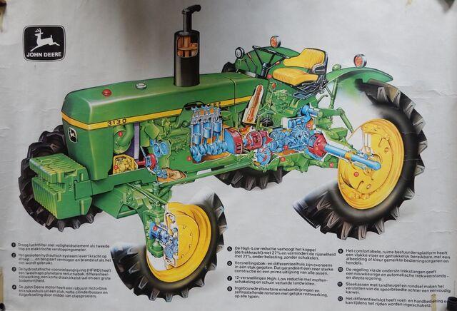 File:John Deere 3130 tractor cutaway.jpg