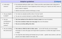 Adoption Guidelines