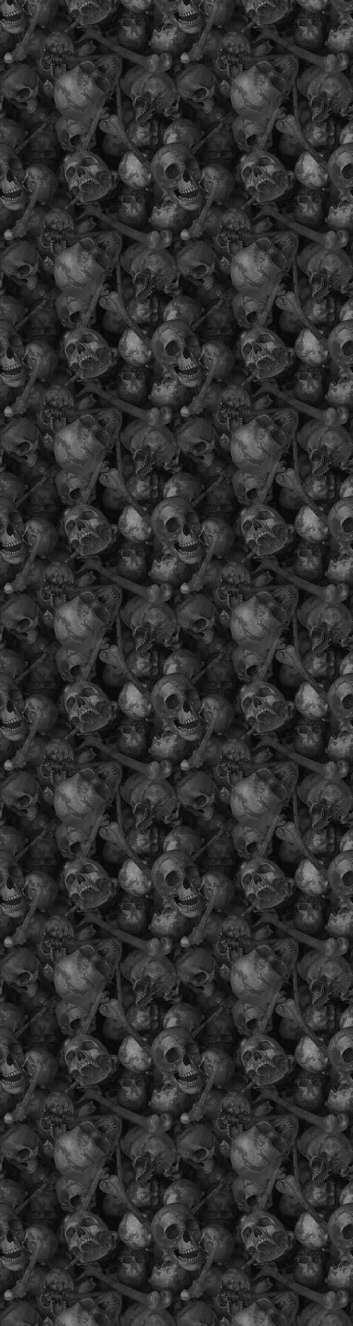 Skull Tile Gray Wikia Template