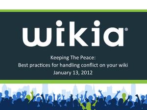 Keeping the peace webinar Slide01