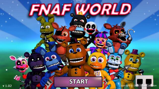 File:FNaF World Title Screen.jpg