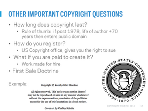 Copyright webinar Slide18