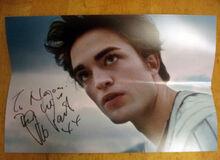 Robert Pattinson sent me back an autograph! (2008)