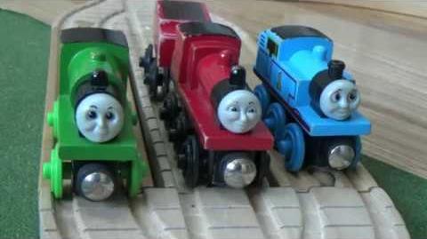 No Joke For James Remake -Vintage Train Giveaway Contest - Enter Now - WoodenRailwayStudio