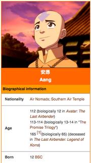 Avatar infobox