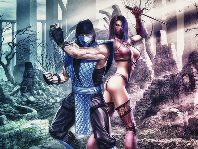 File:Sub zero and mileena by vriserio-d4j6i0r.jpg
