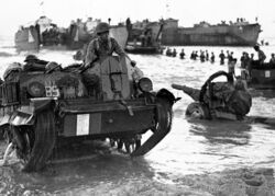 Allied Landings with Universal Carrier, Sicily 1943