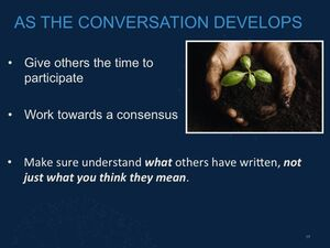 Community Discussions Slide17