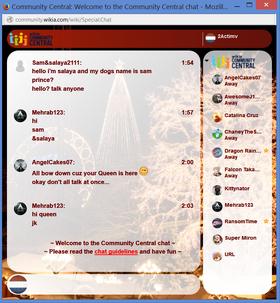 PrntScr Christmas Chat Skin 3