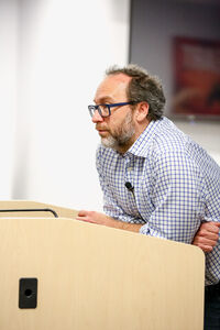 Jimmy Wales at Wikia