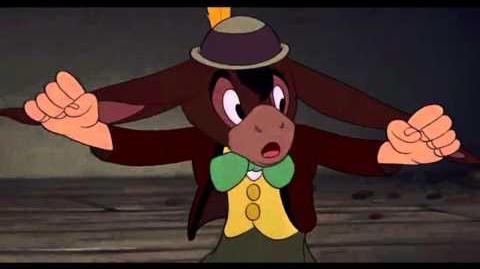 Pinocchio e gli asini