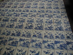 Chinese porcelain tiles, Cochin synagogue.jpg