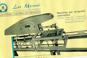 Depliant serigrafica Morandi S1