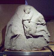 Jinete Relieve de Osuna A (M.A.N. Inv.38418) 01