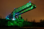 Landschaftspark Duisburg-Nord green-lights