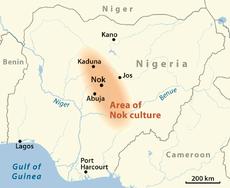 Verbreitung Nok-Kultur-en