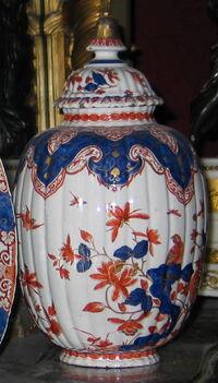 Vase in Imari style