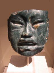 Olmec mask at Met