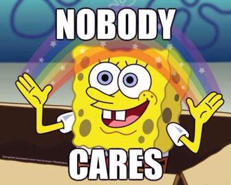 Spongebob-Memes-Nobody-Cares