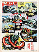 June 1965 TV21 Daleks comic page