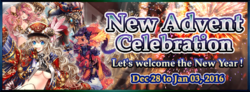 New Advent Celebration