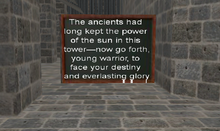 Call Of The Ancients - beginning