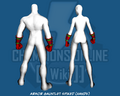 Armor Gauntlet Spiked (Hands) - Back