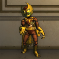 Foxbat Zombie Action Figure