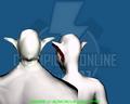 Vampire 01 Monstrous (Head Type) - Back