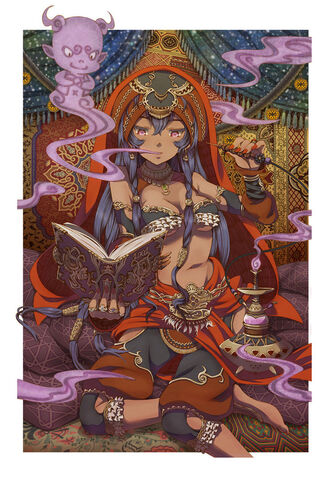 File:Scheherazade and the hash djinn by vinhnyu-d5mmutl.jpg