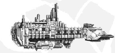 Space Marine Fleet -2- Strike Cruiser