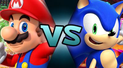 Mario VS Sonic (MM875)