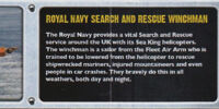 Royal Navy Search and Rescue Winchman