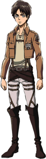 Eren Yeager full body