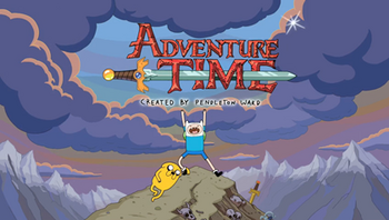 Adventure Time - Title card