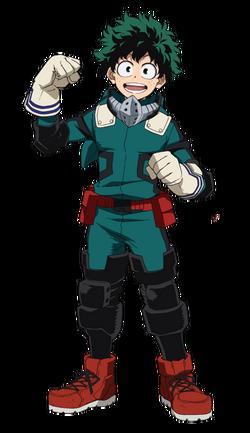 Izuku Midoriya, the Successor to All Might