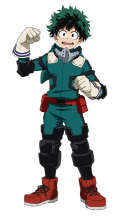 Izuku Midoriya, the Successor to All Might