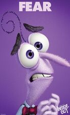 Inside Out Character Poster Fear