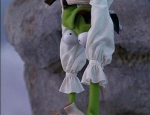 Kermit Eyes Infected 2