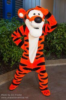 Tigger Disney parks