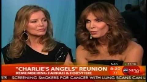 Cheryl Ladd & Jaclyn Smith Reunion Good Morning America 2010