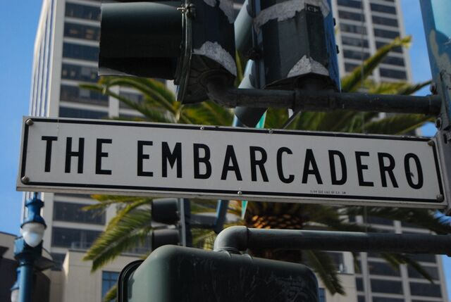 File:Embarcadero streetsign.jpg