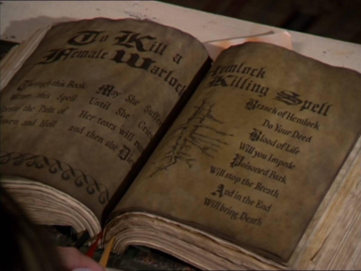 Real Spells From The Book Of Shadows Hemlock Killing Spell ...