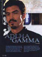 Alpha Gamma1
