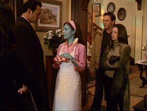 Phoebe begins to turn BandW